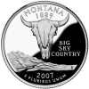 Montana Image from US Mint Image Library