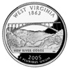 West Virginia Image from US Mint Image Library